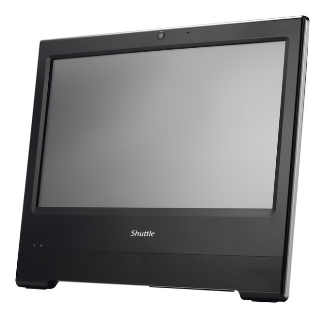 PC All-In-One Shuttle X50V6 dotykový displej čierny SSD , IP54